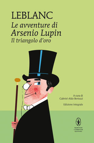 copertina Le avventure di Arsenio Lupin. Il triangolo d'oro