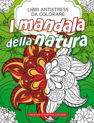 copertina Libri antistress da colorare. Mandala della natura