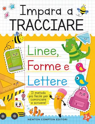 copertina Impariamo a tracciare: linee, forme e lettere
