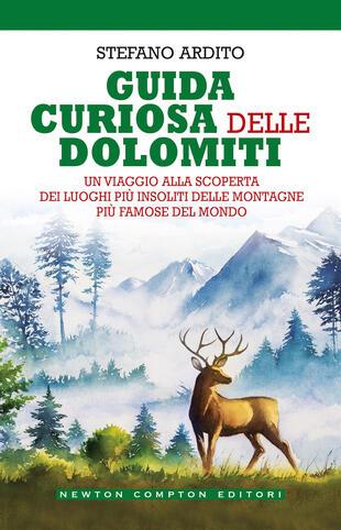copertina Guida curiosa delle Dolomiti