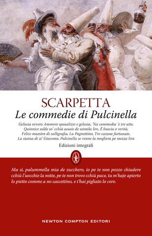 copertina Le commedie di Pulcinella