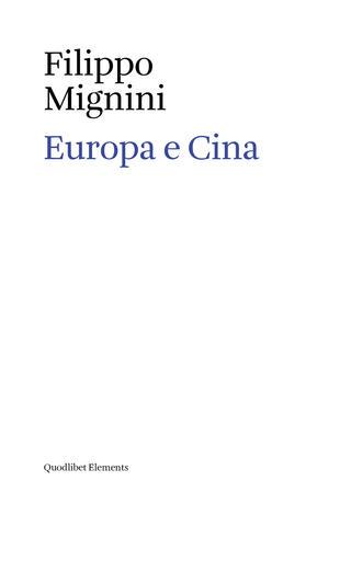 copertina Europa e Cina