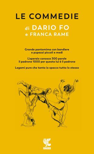 copertina Le Commedie di Dario Fo Vol.3
