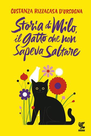 copertina Storia di Milo, il gatto che non sapeva saltare