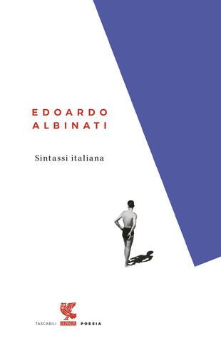 copertina Sintassi italiana