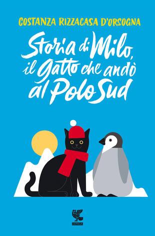 copertina Storia di Milo, il gatto che andò al Polo Sud