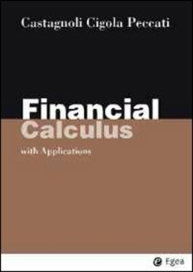 Financial calculus. With applications
