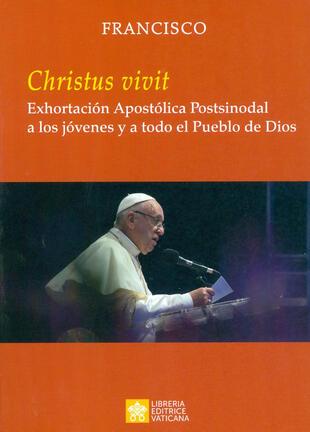 copertina «Christus vivit». Exhortación apostólica postsinodal a los jóvenes y a todo el pueblo de Dios