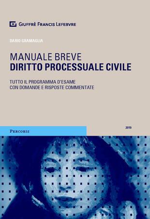 copertina Diritto processuale civile. Manuale breve