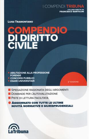 copertina Compendio di diritto civile