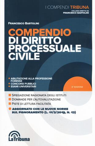 copertina Compendio di diritto processuale civile