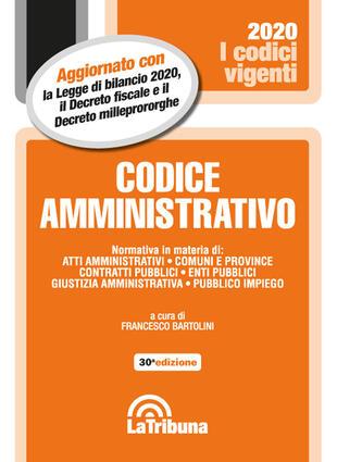copertina Codice amministrativo