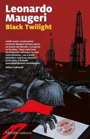 copertina Black twilight. Ediz. italiana
