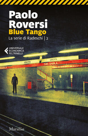 copertina Blue tango. La serie di Radeschi. Vol. 2