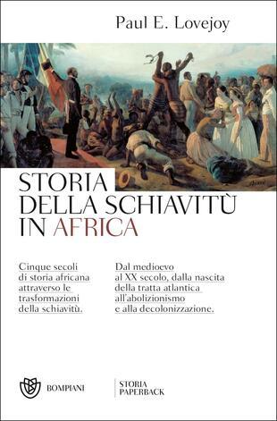 copertina Storia della schiavitù in Africa