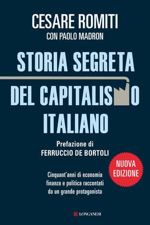 copertina STORIA SEGRETA DEL CAPITALISMO ITALIANO