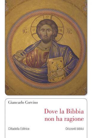 copertina Dove la Bibbia non ha ragione