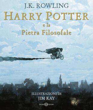 copertina Harry Potter e la Pietra filosofale - Ed. Illustrata Brossura