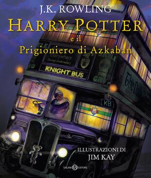 copertina Harry Potter e il Prigioniero di Azkaban - Ed. Illustrata Brossura