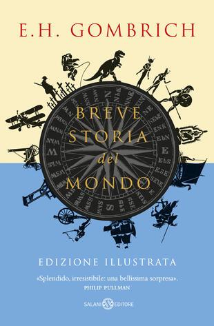 copertina Breve storia del mondo - Edizione illustrata