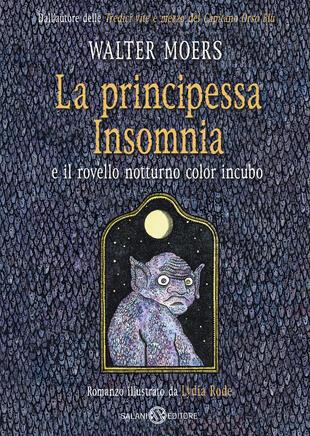 copertina La principessa Insomnia e il rovello notturno color incubo
