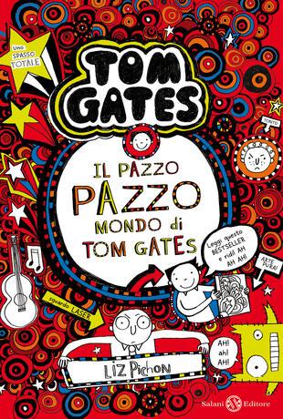 copertina Il pazzo pazzo mondo di Tom Gates
