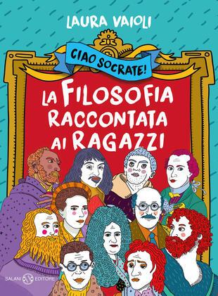 copertina Ciao Socrate! La filosofia raccontata ai ragazzi