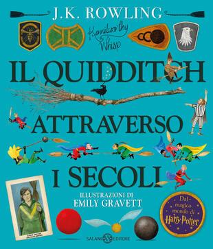 copertina Il Quidditch attraverso i secoli ed. illustrata
