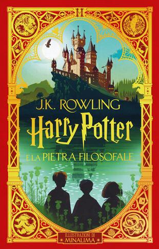 copertina Harry Potter e la Pietra filosofale - ed. papercut MinaLima