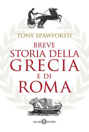 copertina Breve storia della Grecia e di Roma