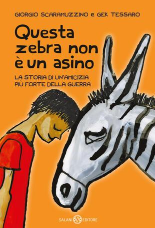 copertina Questa zebra non è un asino