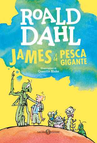 copertina James e la pesca gigante