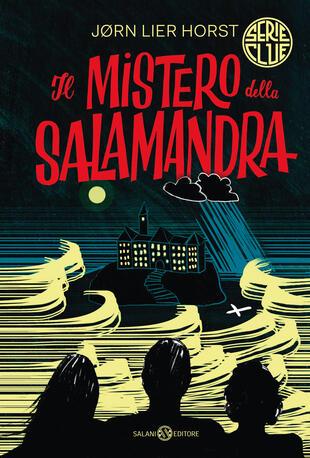 copertina Il mistero della salamandra