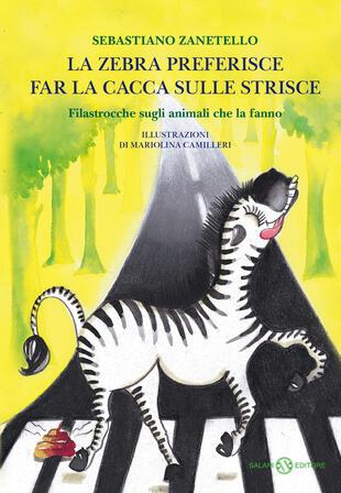 copertina La zebra preferisce far la cacca sulle strisce