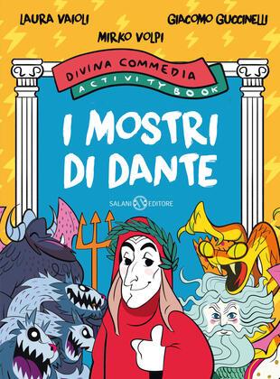 copertina I mostri di Dante. Divina Commedia activity book