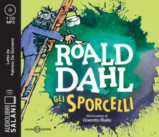 copertina Gli Sporcelli Audiolibro CD