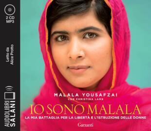 copertina Io sono Malala Audiolibro CD