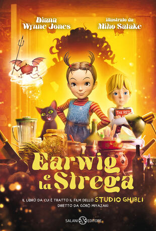 copertina Earwig e la strega - Edizione Film