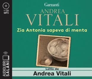 copertina Zia Antonia sapeva di menta Audiolibro CD
