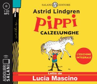 copertina Pippi Calzelunghe Audiolibro CD