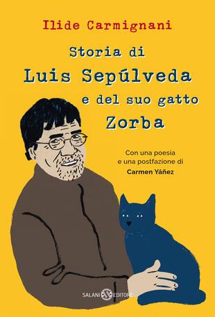 copertina Storia di Luis Sepúlveda e del suo gatto Zorba