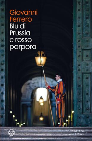 copertina Blu di Prussia e rosso porpora