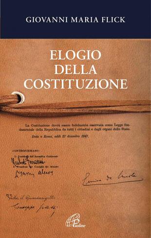 copertina Elogio della Costituzione