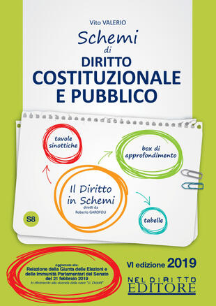 copertina Schemi di diritto costituzionale e pubblico
