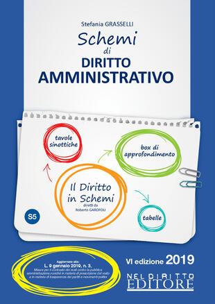 copertina Schemi di diritto amministrativo