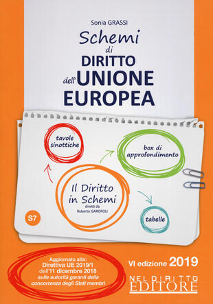 copertina Schemi di diritto dell'Unione Europea