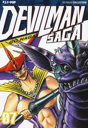 copertina Devilman saga