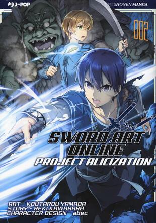 copertina Project Alicization. Sword art online
