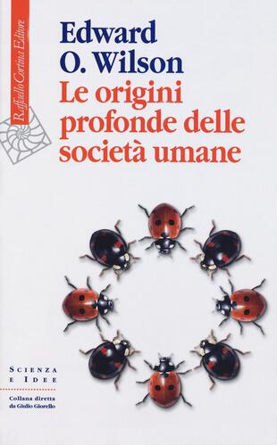 copertina Le origini profonde delle società umane