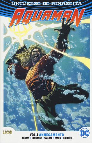 copertina Universo DC. Rinascita. Aquaman